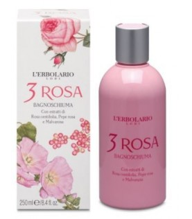 3 ROSA BAGNOSCHIUMA 250 ml
