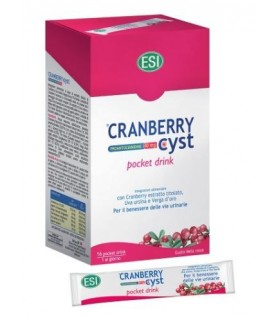 CRANBERRY CYST 16 POCKET DRINK